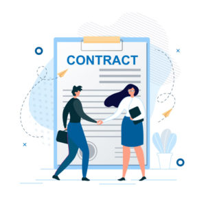 Kunden schließen gerne mit uns Verträge ab