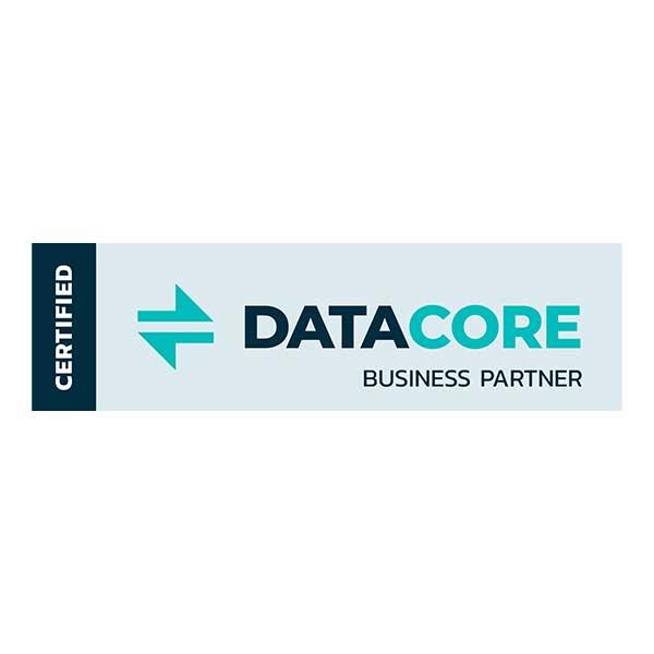Certified Datacore Business Partner Logo