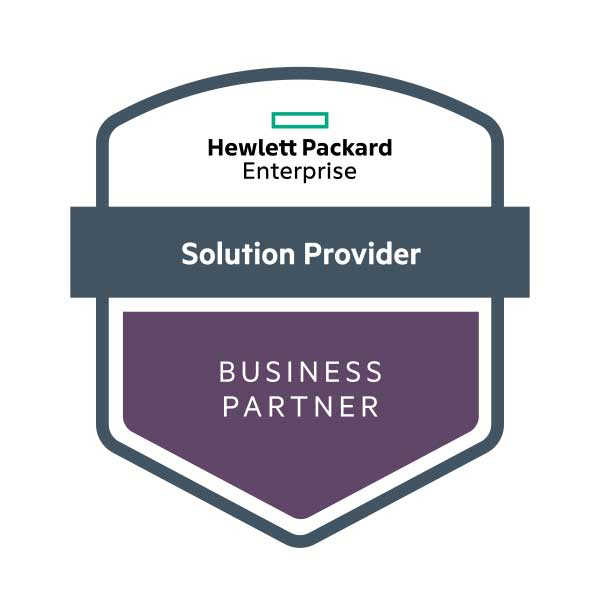 Hewlett Packard Enterprise HPE Solution Provider Business Partner Logo