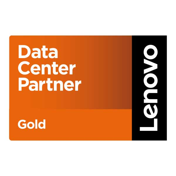 Lenovo Data Center Gold Partner Logo