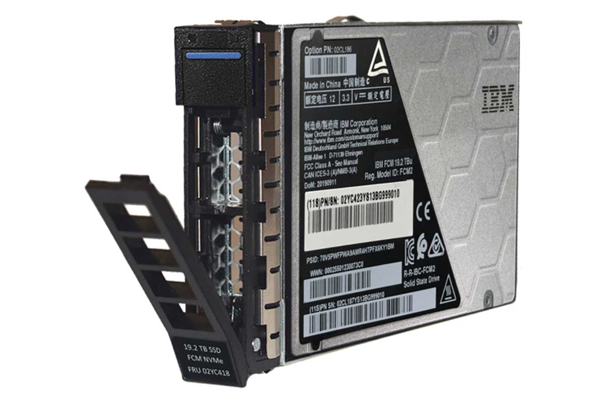 IBM FlashCore Module in detail